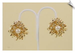 Glamour Clip Earrings