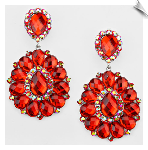 Clip Earrings - Glamour