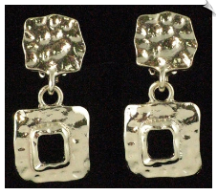 Clip On Earrings - Petite (SKU: SOL2574)