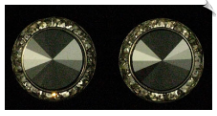 Clip On Earrings - Crystal (SKU: SOL2622)