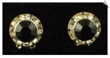 Clip On Earrings - Crystal (SKU: SOL2625)