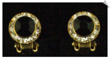 Clip On Earrings - Crystal (SKU: SOL2626)