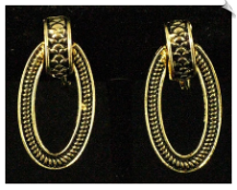 Clip On Earrings - Petite (SKU: SOL2634)