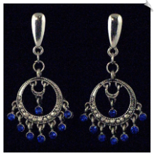 Clip On Earrings - Petite (SKU: SOL2981)
