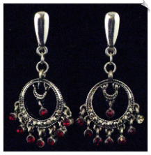 Clip On Earrings - Petite (SKU: SOL2982)