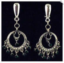 Clip On Earrings - Petite (SKU: SOL2983)