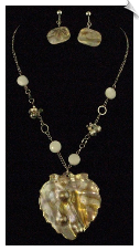 Necklace Sets - Pearl & White (SKU: SOL3070)