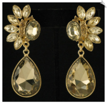 Clip On Earrings - Fashion (SKU: SOL4151)