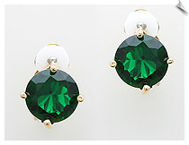 Clip On Earrings - Cubic Zirconia (SKU: SOL5484)