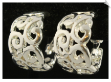 Clip Earrings - Hoops (SKU: SOL5986)