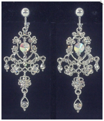 Clip Earrings - Chandelier