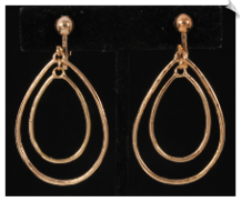 Clip Earrings - Modern (SKU: SOL6445)