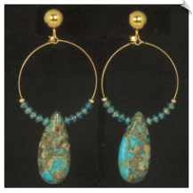 Clip Earrings - Fashion (SKU: SOL6820)