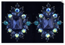 Clip On Earrings - Fashion (SKU: SOL4589)