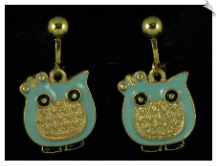 Clip On Earrings - Fashion (SKU: SOL4927)