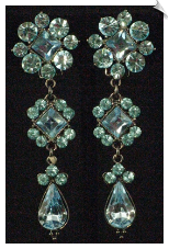 Chandelier Clip Earrings (SKU: SOL101)