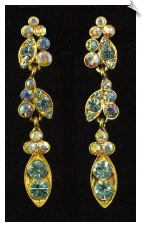 Clip On Earrings - Chandelier (SKU: SOL1583)