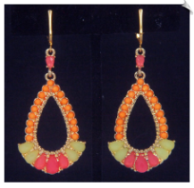Clip Earrings - Fashion (SKU: SOL6901)