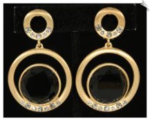 Clip On Earrings - Modern (SKU: SOL6242)