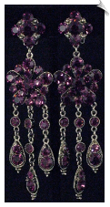 Clip On Earrings - Chandelier (SKU: SOL2479)