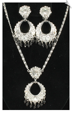 Necklace Set - Silver (SKU: SOL3738)