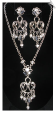 Necklace Set - Silver (SKU: SOL3741)