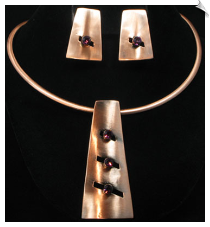 Necklace Set - Art Deco (SKU: SOL3743)