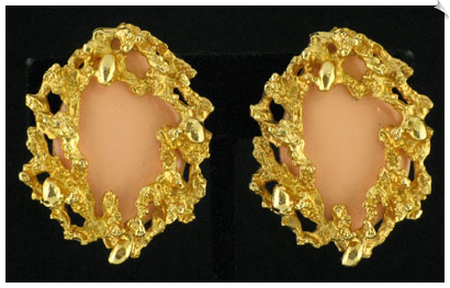 Clip On Earrings - Vintage