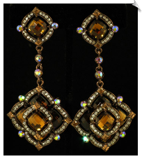 Clip On Earrings - Fashion (SKU: SOL4451)