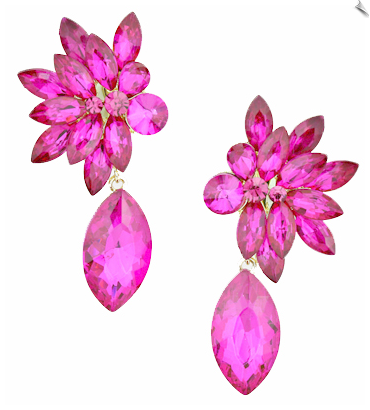 Clip On Earrings - Glamour