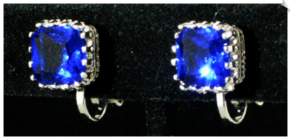Clip Earrings - Cubic Zirconia