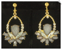 Clip Earrings - Fashion (SKU: SOL6127)
