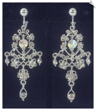 Clip Earrings - Chandelier (SKU: SOL6159)