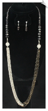 Necklace Set - Silver (SKU: SOL6190)