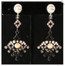 Clip Earrings - Glamour (SKU: SOL6230)