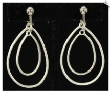Clip Earrings - Modern (SKU: SOL6436)