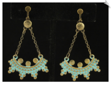 Clip Earrings - Fashion (SKU: SOL6554)