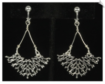 Clip Earrings - Art Deco (SKU: SOL6626)