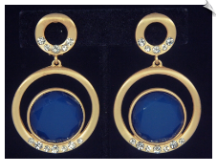 Clip Earrings - Modern (SKU: SOL6754)