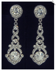 Clip Earrings - Crystal (SKU: SOL6783)