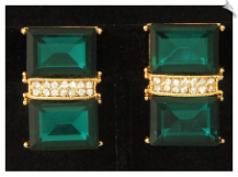 Clip Earrings - Glamour (SKU: SOL6855)