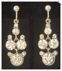 Clip Earrings - Glamour (SKU: SOL6857)