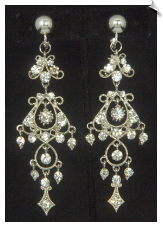 Clip Earrings - Chandelier (SKU: SOL6858)