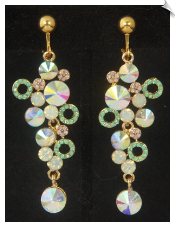 Clip Earrings - Glamour (SKU: SOL6866)