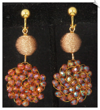 Clip Earrings - Fashion (SKU: SOL6870)