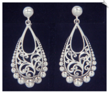 Clip Earrings - Fashion (SKU: SOL6885)