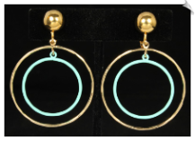 Clip Earrings - Modern (SKU: SOL6959)