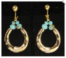 Clip Earrings - Fashion (SKU: SOL6980)