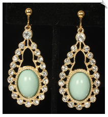 Clip Earrings - Fashion (SKU: SOL7063)