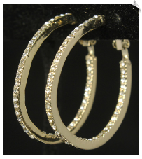 Clip Earring Hoops- GOLD (SKU: SOL7387)